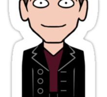 The Ninth Doctor (sticker) Sticker