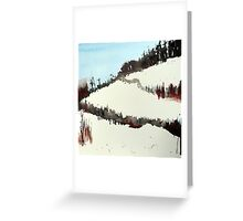 Mount Royal #5, Montreal, watercolour Greeting Card