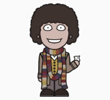 The Fourth Doctor (sticker) by redscharlach