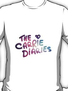 The Carrie Diaries Purple Galaxy Nebula  T-Shirt