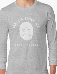 Waiola Shave Ice (White) Long Sleeve T-Shirt