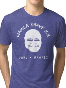 Waiola Shave Ice (White) Tri-blend T-Shirt