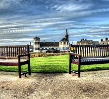 Tynemouth Benches by Andrew Pounder
