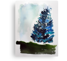 A Tree Grows In Mount Royal,  Montreal Canvas Print
