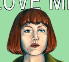 BIG LEBOWSKI-Maude Lebowski- Jeffrey. Love me. Sticker
