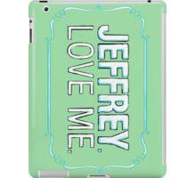 BIG LEBOWSKI-Maude Lebowski- Jeffrey. Love me. iPad Case/Skin