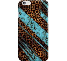 Blue Leopard iPhone Case/Skin