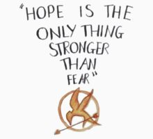 "T-Shirt ""hope is stronger"" by paynemyheart"