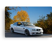 2005 BMW M5 Sports Coupe Canvas Print