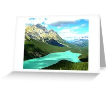 Too Beautiful for Words Greeting Card