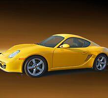 2007 Porsche Cayman II by DaveKoontz
