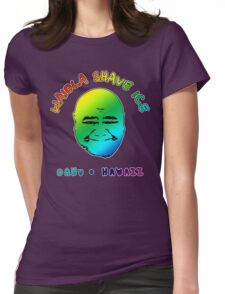 Waiola Shave Ice (Rainbow) Womens Fitted T-Shirt