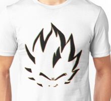 Vegeta Black Neon Outline Unisex T-Shirt