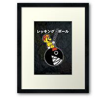 Mario Wrecking Ball (Print Version) Framed Print