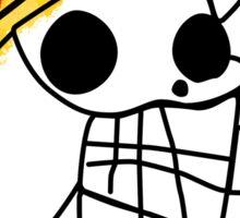 Luffy on Laboon Sticker