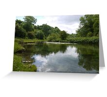 Lathkill Dale Greeting Card