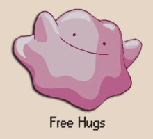 Ditto Free Hugs by Kidounours