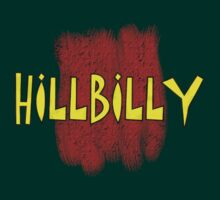 Hillbilly YR decoration Clothing & Stickers by goodmusic