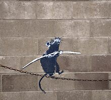 Rat by BanksyOfficial