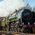 BR Britannia Class 7MT 4-6-2 no 70013 Oliver Cromwell by Stephen Liptrot