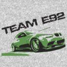 Team E92 by GKuzmanov