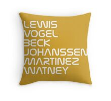 The Martian - Ares III Crew Throw Pillow