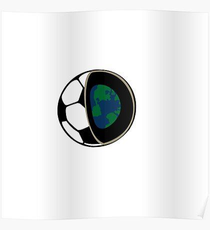 Football earth  Poster