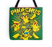 Teenage Mutant Ninja Pikachus Tote Bag