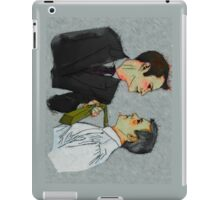 Cat got your tongue, Inspector? iPad Case/Skin