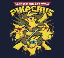 Teenage Mutant Ninja Pikachus Kids Clothes