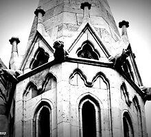 Four gargoyles by Thad Zajdowicz