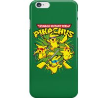 Teenage Mutant Ninja Pikachus iPhone Case/Skin