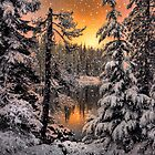 Winter Wounder Land ~ Big Lake ~ by Charles & Patricia   Harkins ~ Picture Oregon