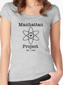 Manhattan Project Women's Fitted Scoop T-Shirt