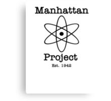 Manhattan Project Canvas Print