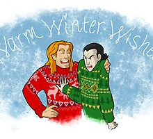 House Arrest Loki - Ugly Sweaters by Sara Machajewski