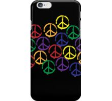 Peace Sign T-Shirt iPhone Case/Skin