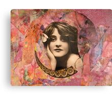 Beadgirl Canvas Print