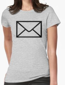Mail Womens Fitted T-Shirt