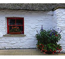 Traditional Irish Cottage Photographic Print