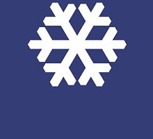 Snowflake white Unisex T-Shirt