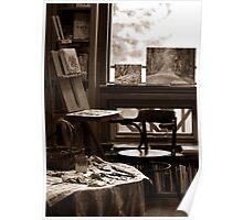 Art Studio in Late November  Poster