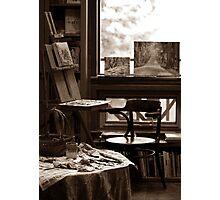 Art Studio in Late November  Photographic Print