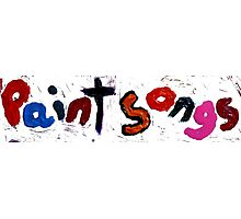 paint songs Photographic Print