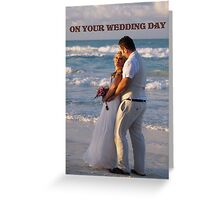 Beach Wedding Greeting Card
