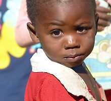 Village boy, near Mfuwe, Zambia by Tessa Manning