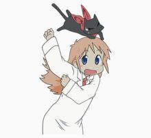 Nichijou - Hakase and Sakamoto by moonfirespam