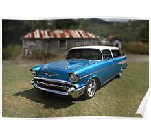 1957 Chevy Nomad Wagon Poster