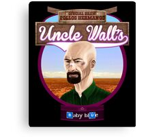 Uncle Walt's Baby Blue Meth Canvas Print