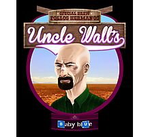 Uncle Walt's Baby Blue Meth Photographic Print